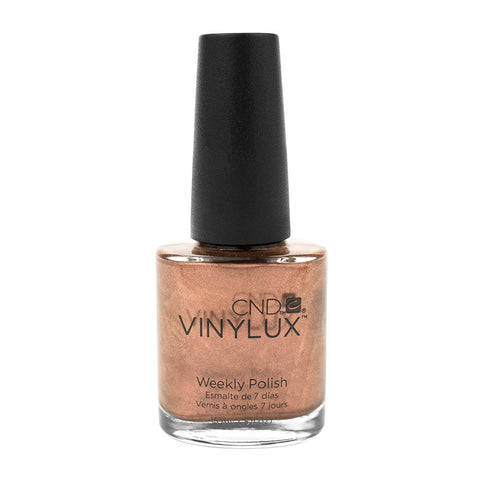 CND Vinylux Lacquer Nail Polish Leather Satchel Burnt Sienna Saddle Brown Professional 0.5oz