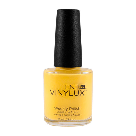 CND VINYLUX High Weekly Nail Polish Bright  BICYCLE YELLOW #104