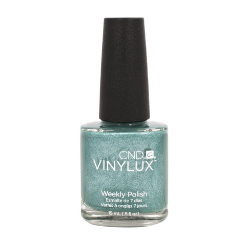 CND VINYLUX Weekly Nail Polish DARING ESCAPE Teal Blue #109