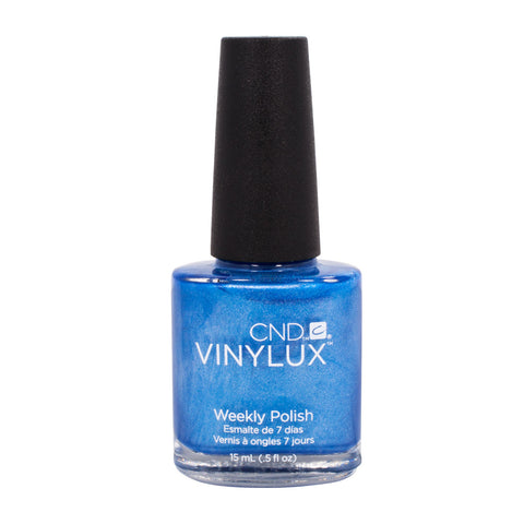 CND VINYLUX Weekly Nail Polish WATER PARK Blue #157