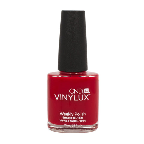 CND VINYLUX Weekly Nail Polish WILDFIRE Bright Red #158