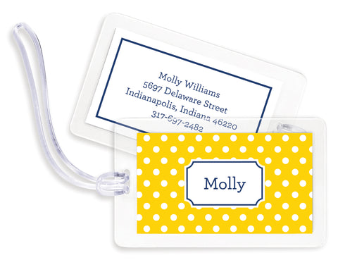Monogram Bag Tags