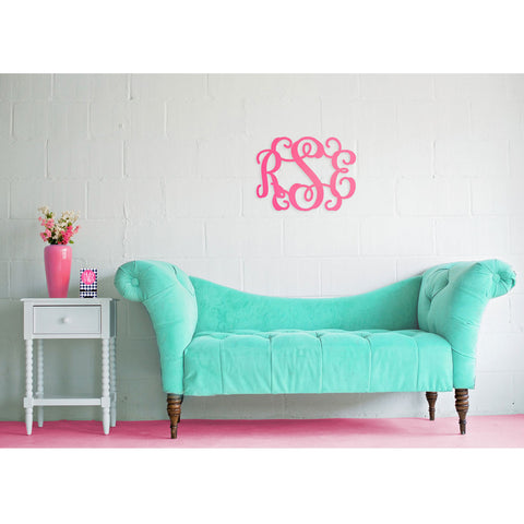 Preppy Wall Monogram