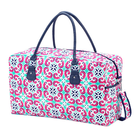 Preppy Travel Duffle Bag