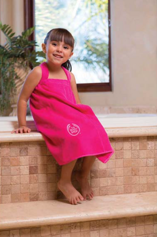 Girl's Towel Wrap