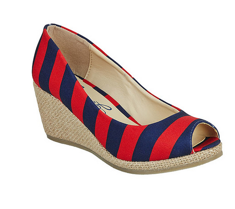 Collegiate Colored Wedges