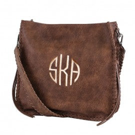 Leather Boho Crossbody