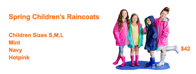 NorthShore Boutique - Raincoats