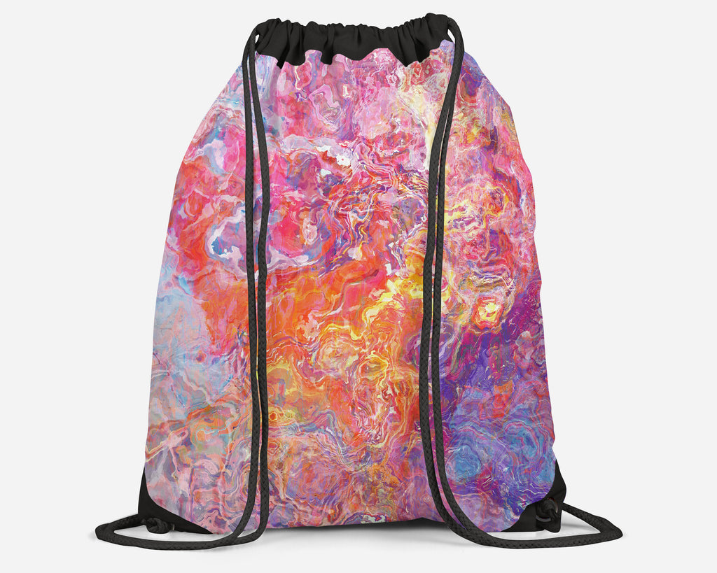 Drawstring Sling Bag, Awakening