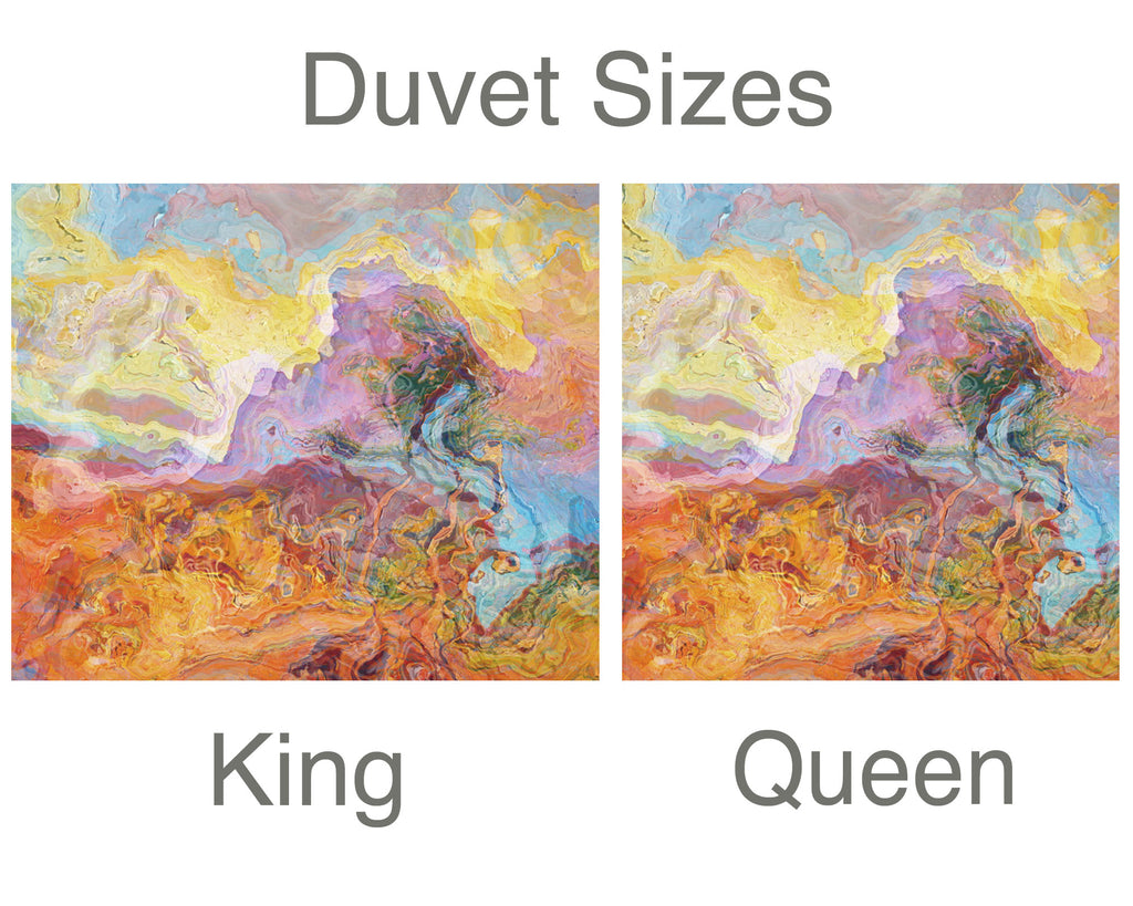 King or Queen Duvet Cover, Bittersweet