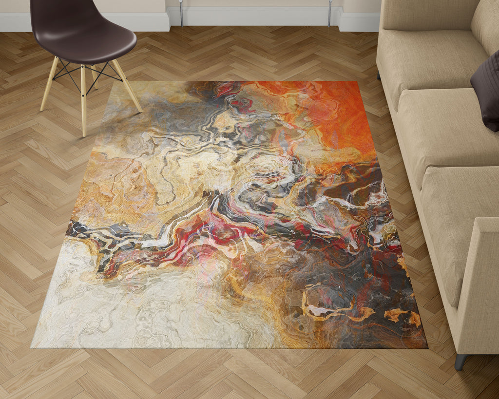 Area Rug, Cinnamon River