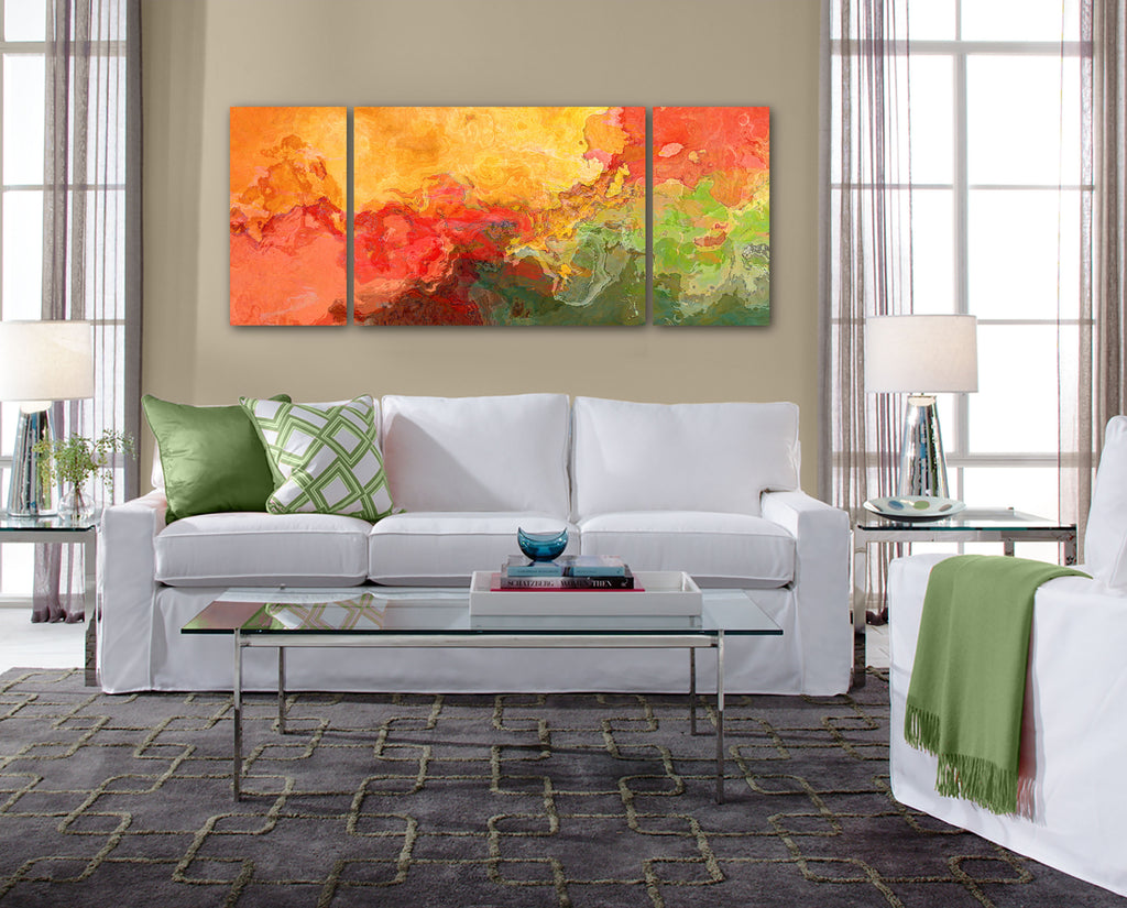 Canvas print, 30x72 to 40x90, Convergence