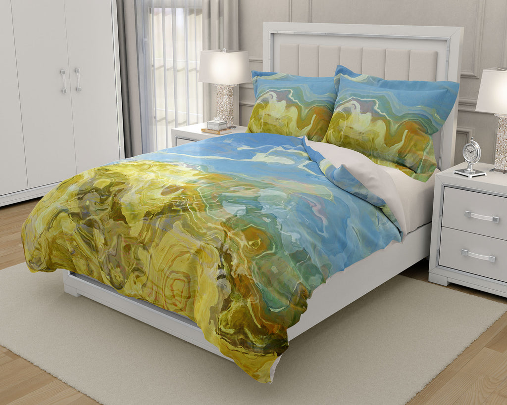 King or Queen Duvet Cover, Dune Scape