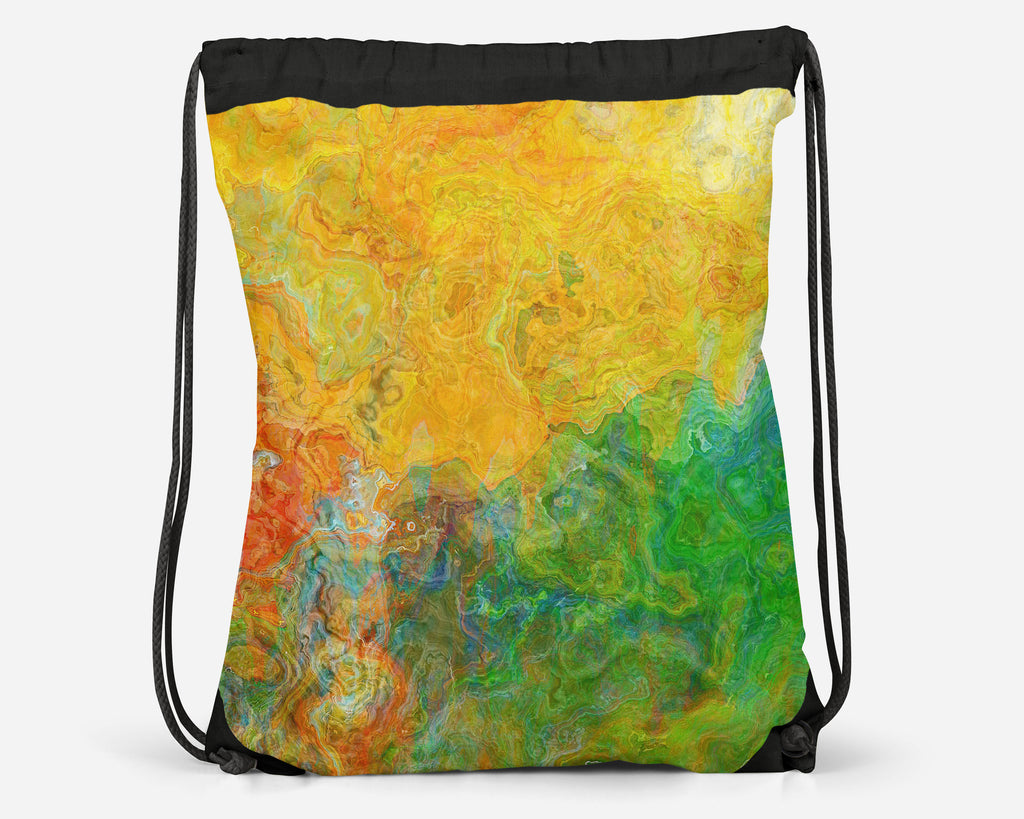 Drawstring Sling Bag, Entangle