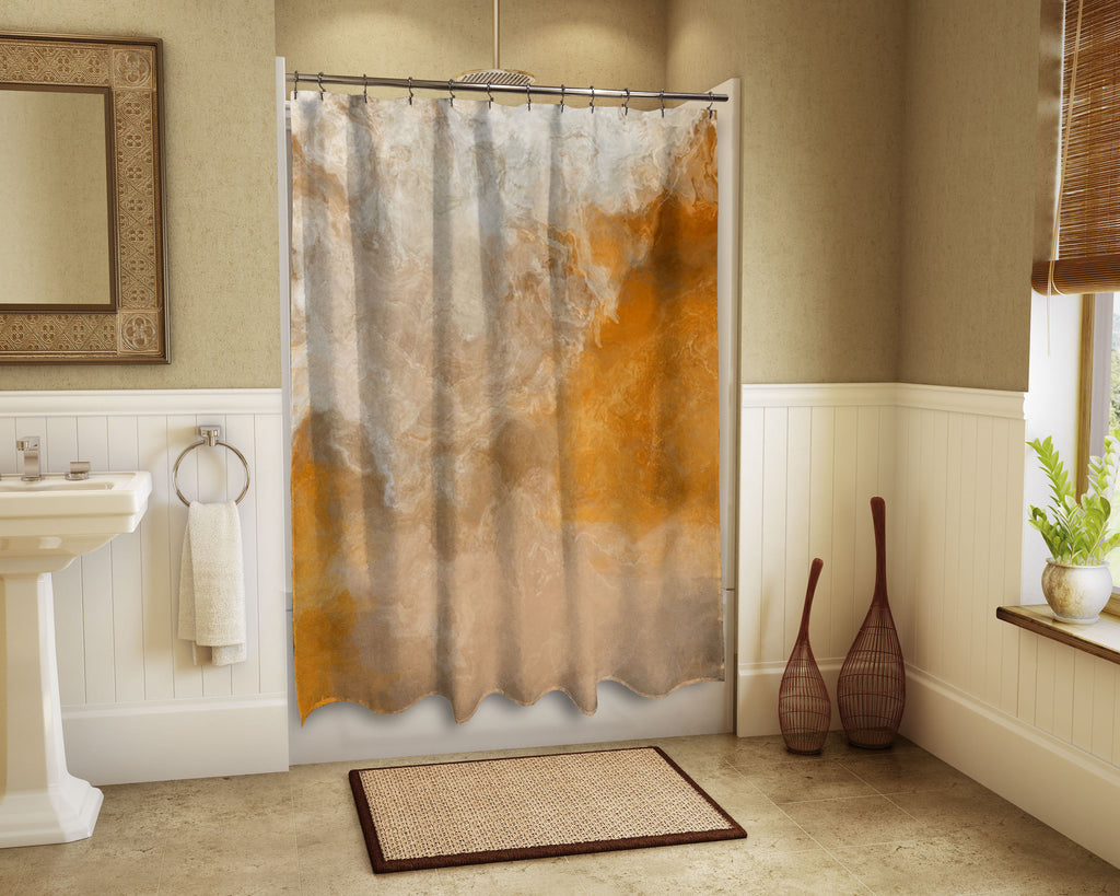 Shower Curtain, Evening Gold