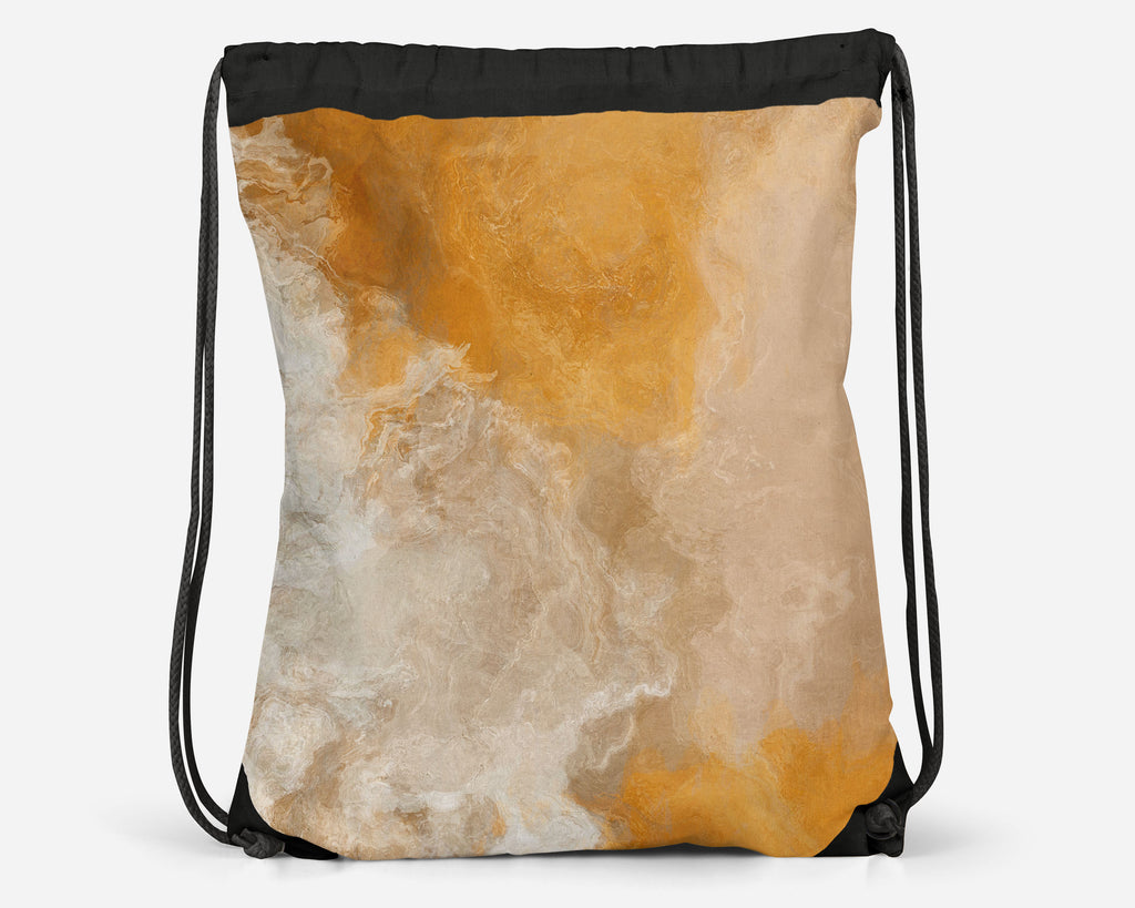 Drawstring Sling Bag, EveningGold