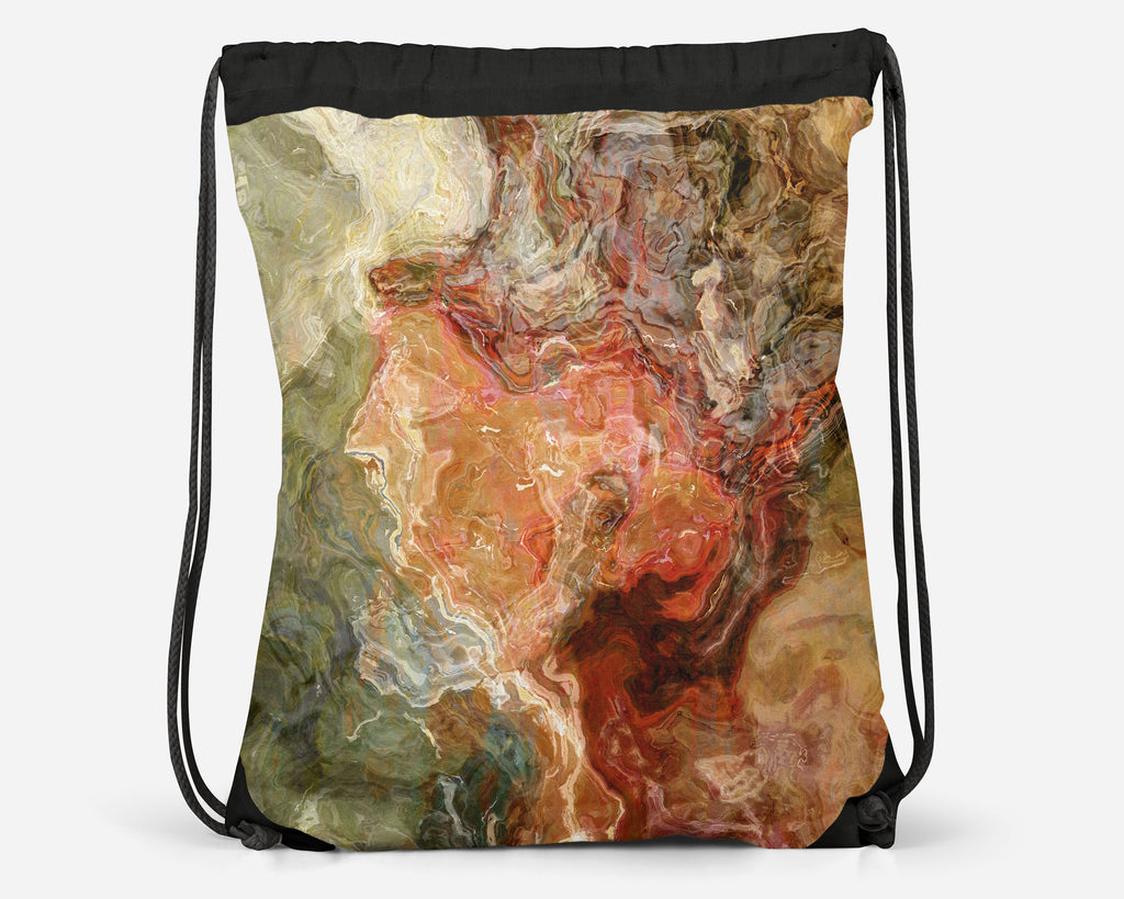 Drawstring Sling Bag, Firestarter