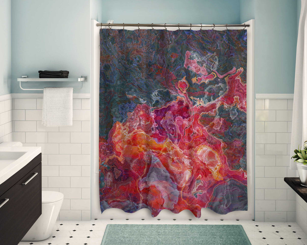 Shower Curtain, Fruit Splash