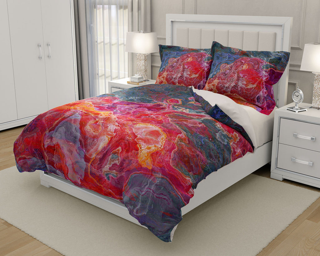 King or Queen Duvet Cover, Fruit Splash