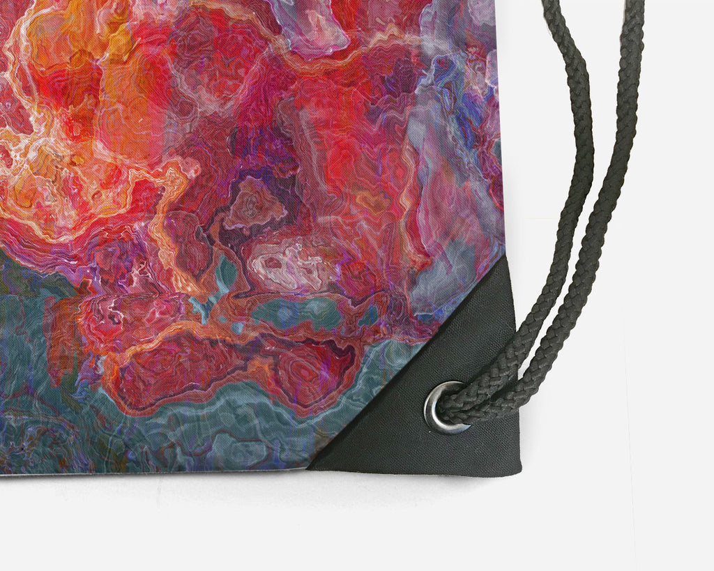Drawstring Sling Bag, Fruit Splash