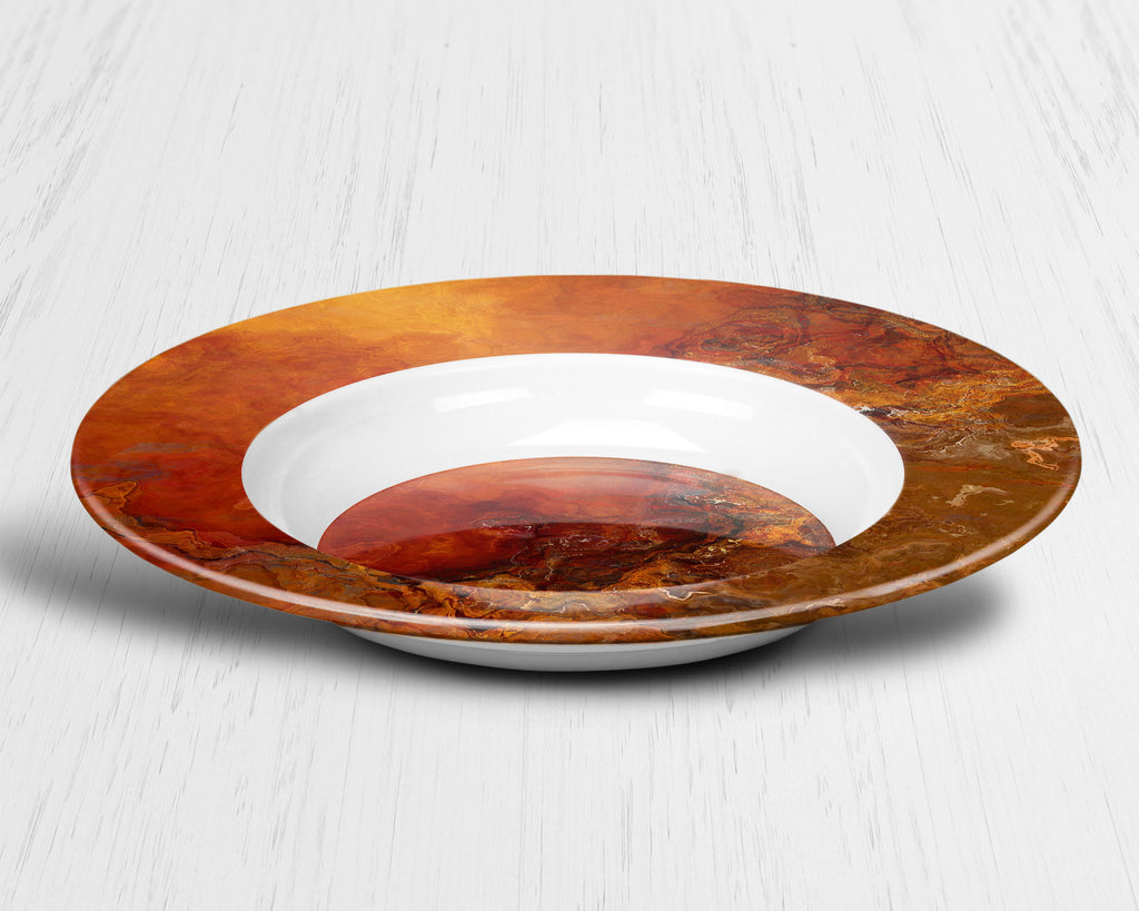 Plate or Bowl, Gold Rush