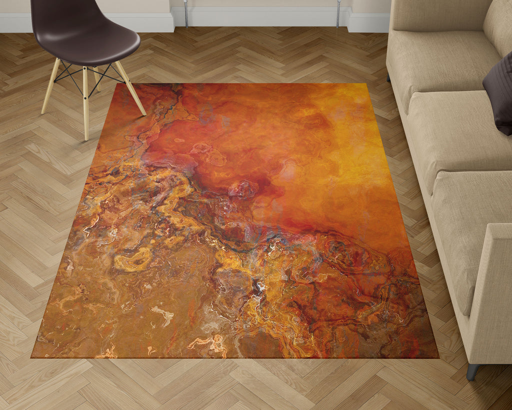 Area Rug, Gold Rush