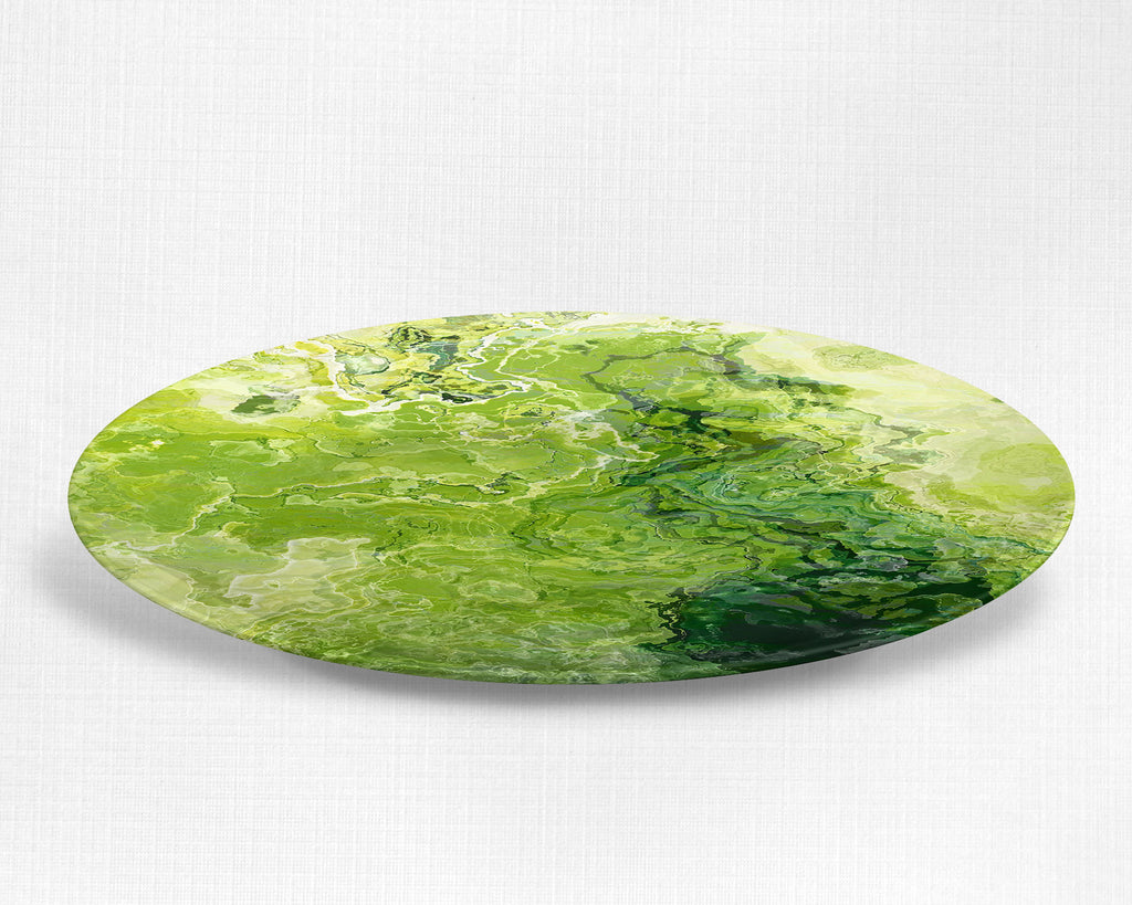 Plate or Bowl, Green Daze