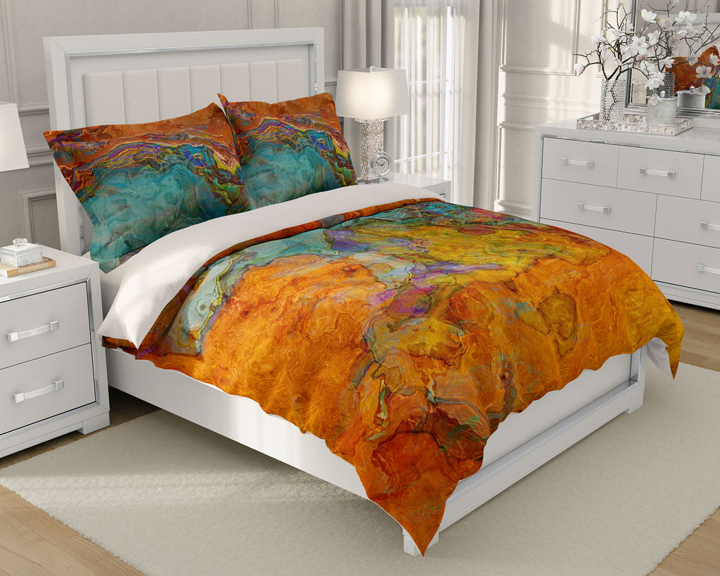King or Queen Duvet Cover, High Desert