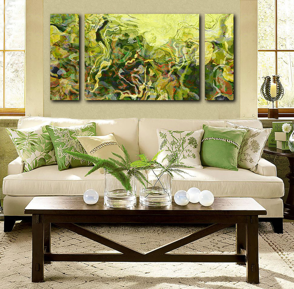 Canvas Print, 30x60 to 40x78, Lemongrass