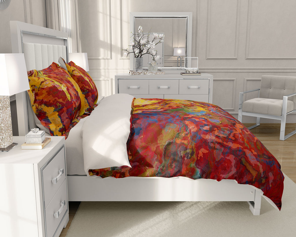 King or Queen Duvet Cover, Momentary
