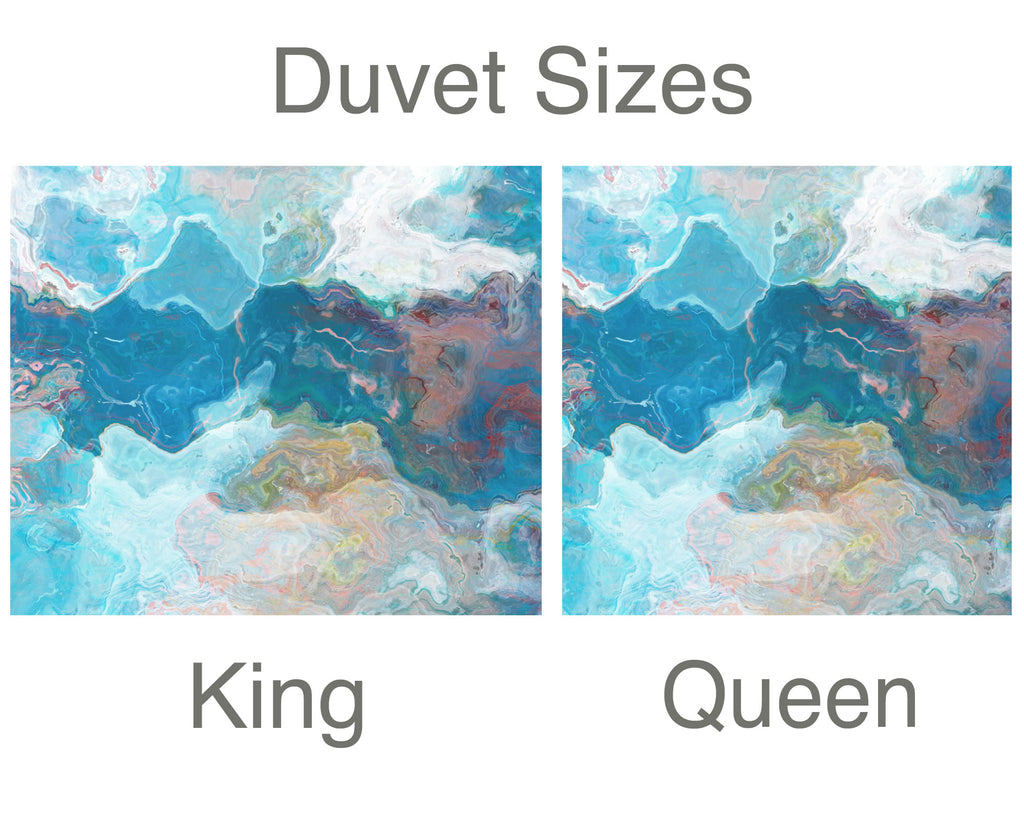 King or Queen Duvet Cover, Patience