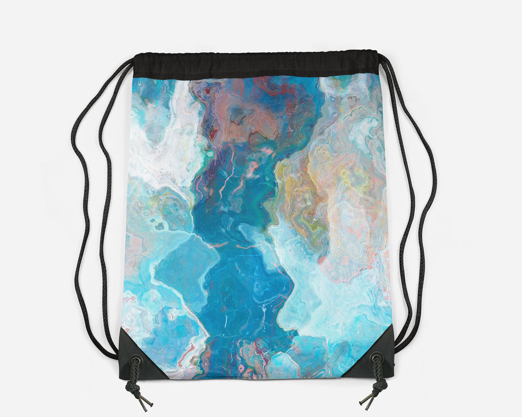 Drawstring Sling Bag, Patience