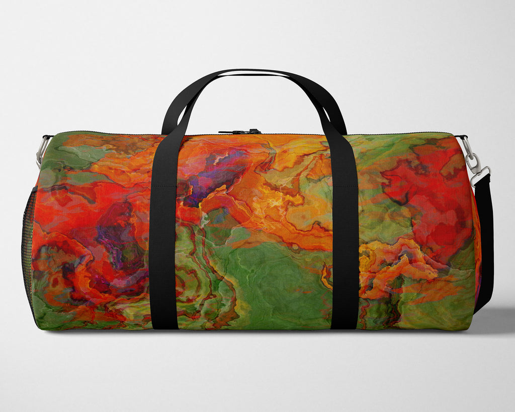 Duffle Bag, Poppies