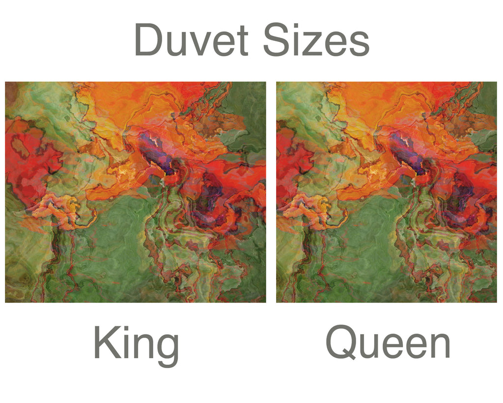 King or Queen Duvet Cover, Poppies