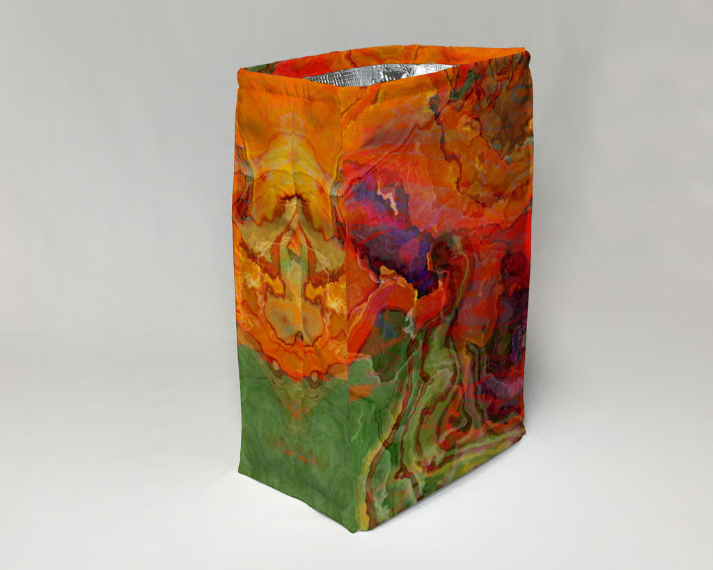 Lunch Bag, Poppies