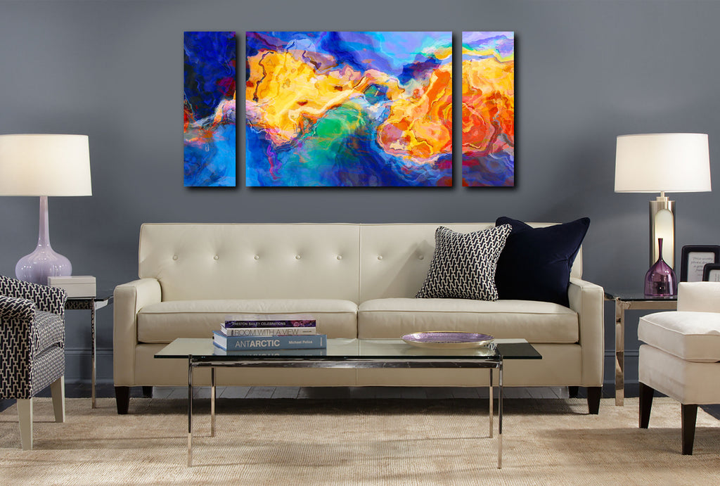 Canvas Print, 30x60 to 40x78, Primordial