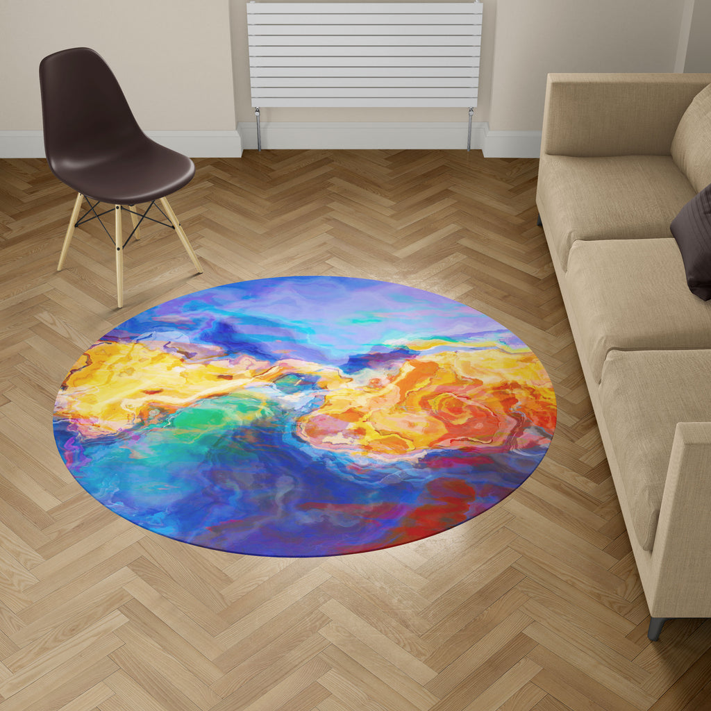 Area Rug, Primordial Soup