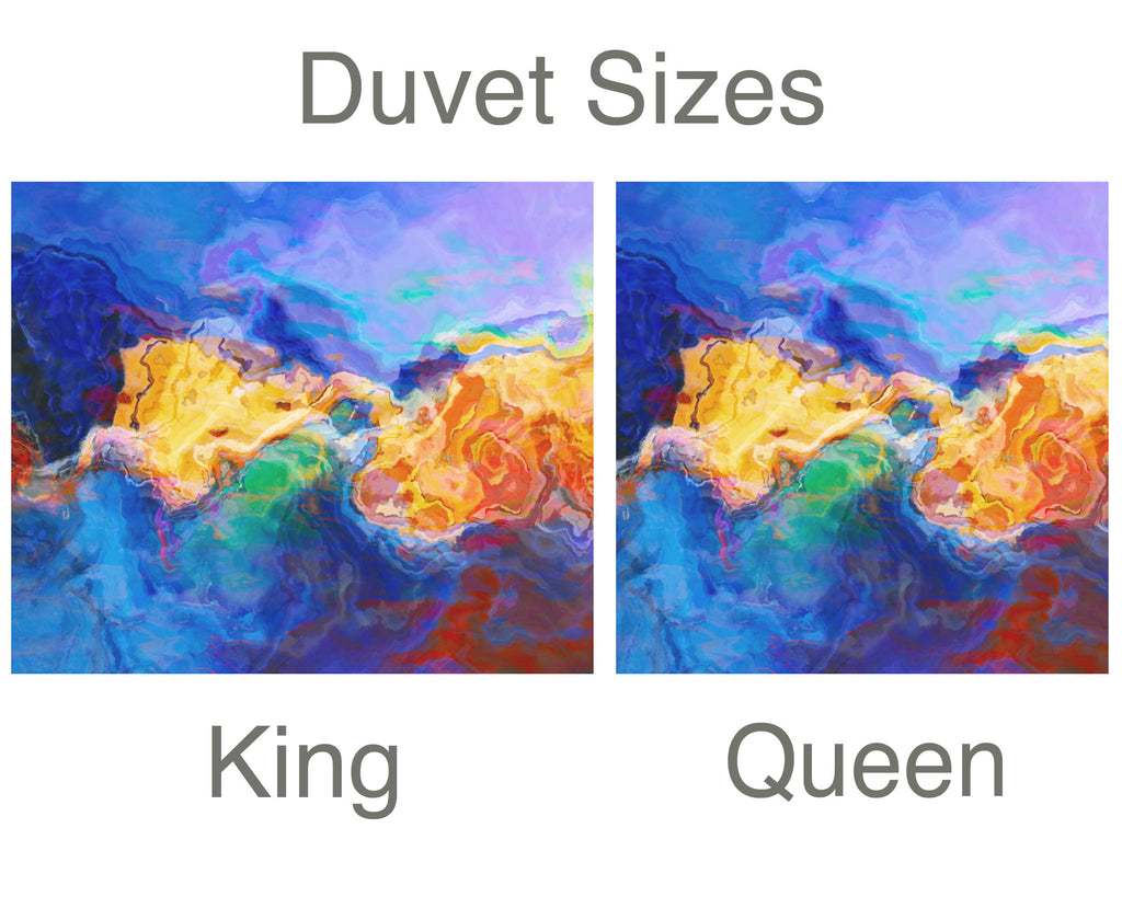 King or Queen Duvet Cover, Primordial Soup