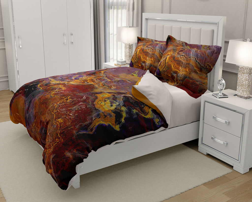 King or Queen Duvet Cover, Riveted