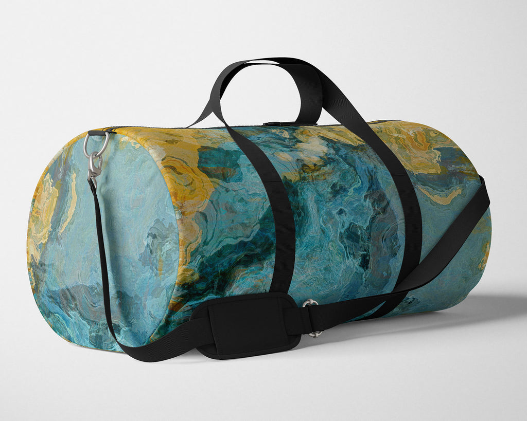 Duffle Bag, Sea and Sand