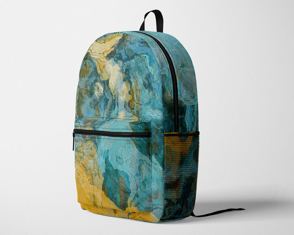 Backpack, Sea and Sand