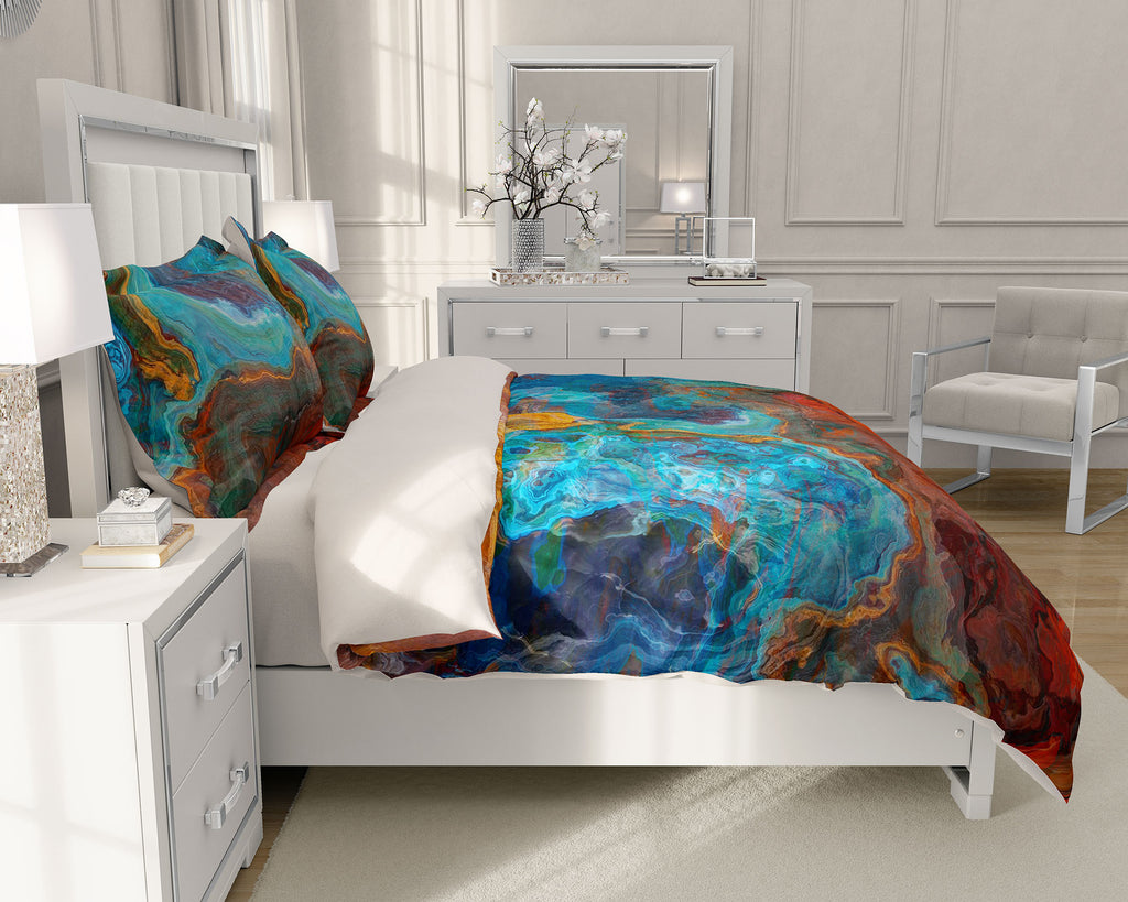 King or Queen Duvet Cover, Sedona Sunrise