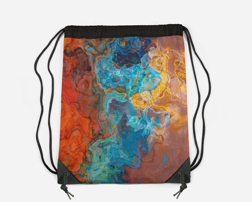 Drawstring Sling Bag, Sedona Sunrise