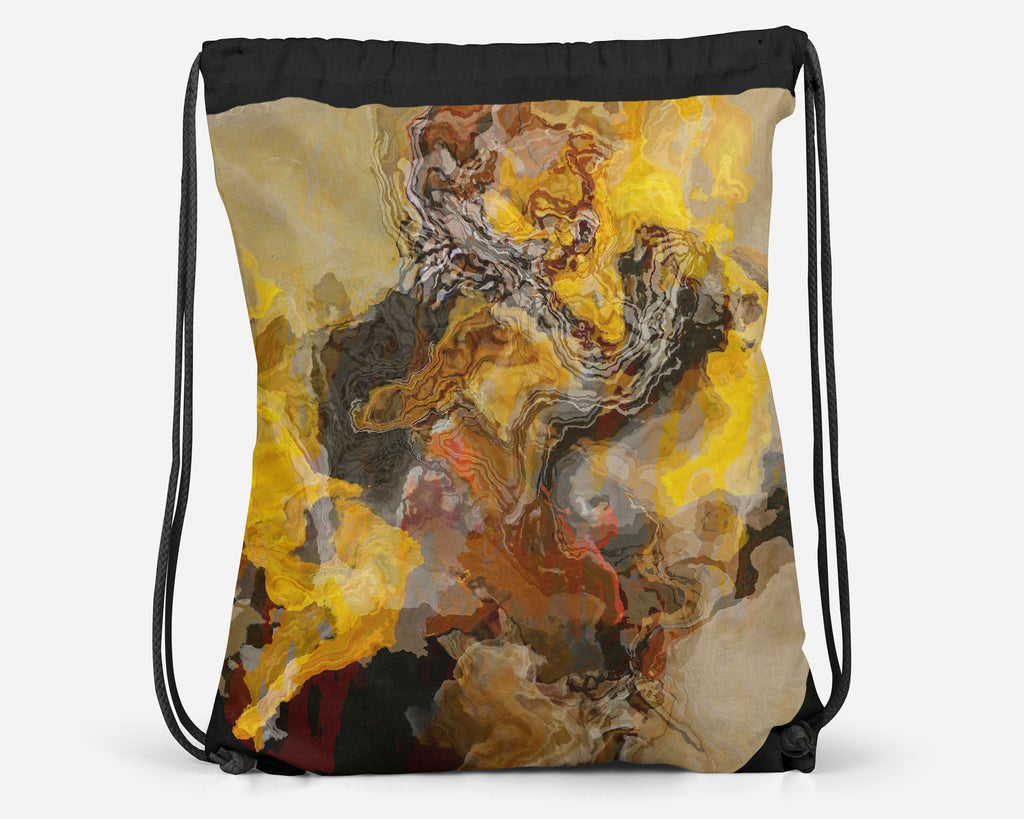 Drawstring Sling Bag, Summer Oaks