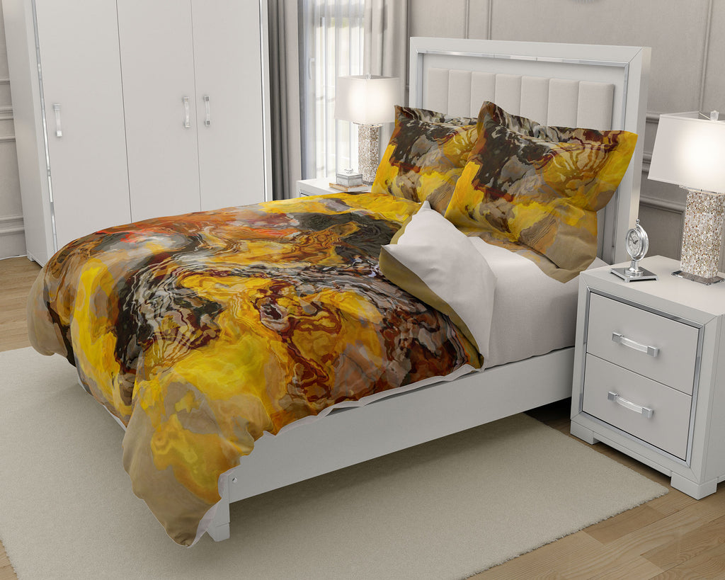 King or Queen Duvet Cover, Summer Oaks