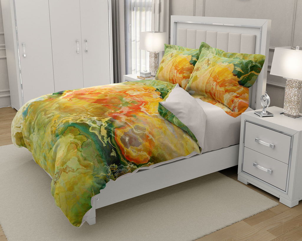 King or Queen Duvet Cover, Take Flight