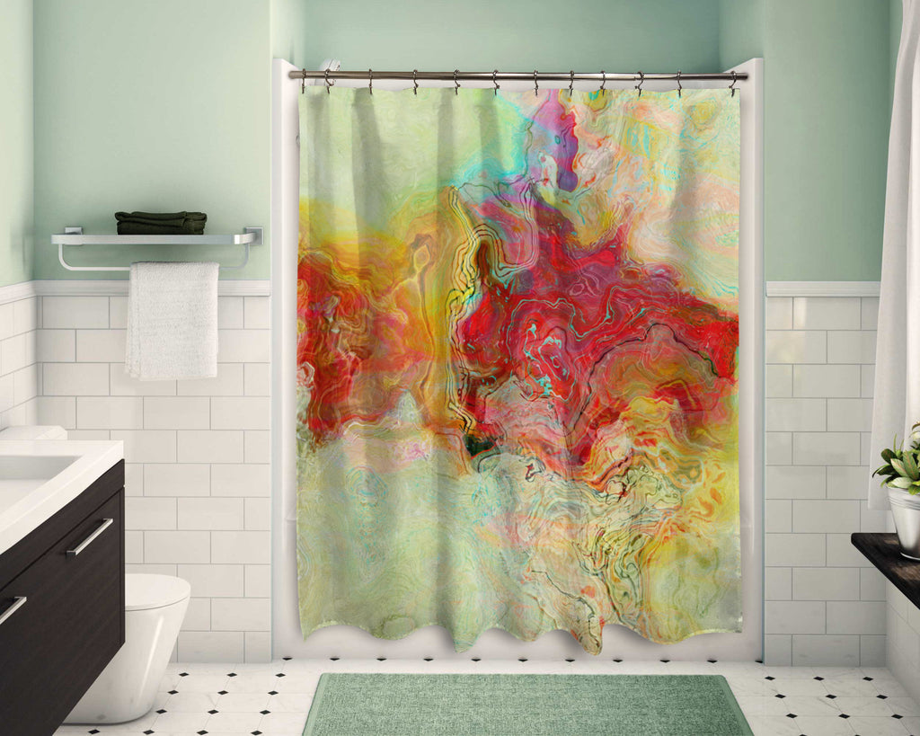 Shower Curtain, Unexpected