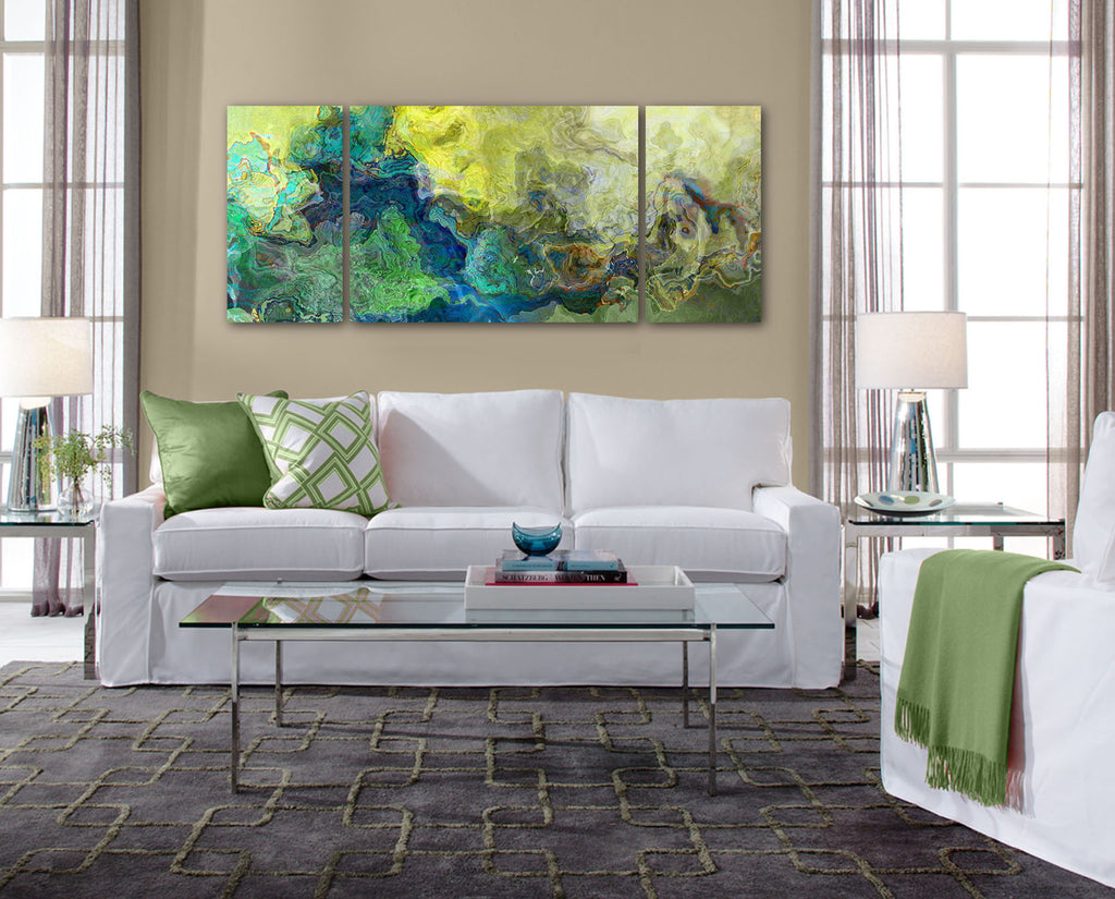 Canvas print, 30x72 to 40x90, Viridian Light