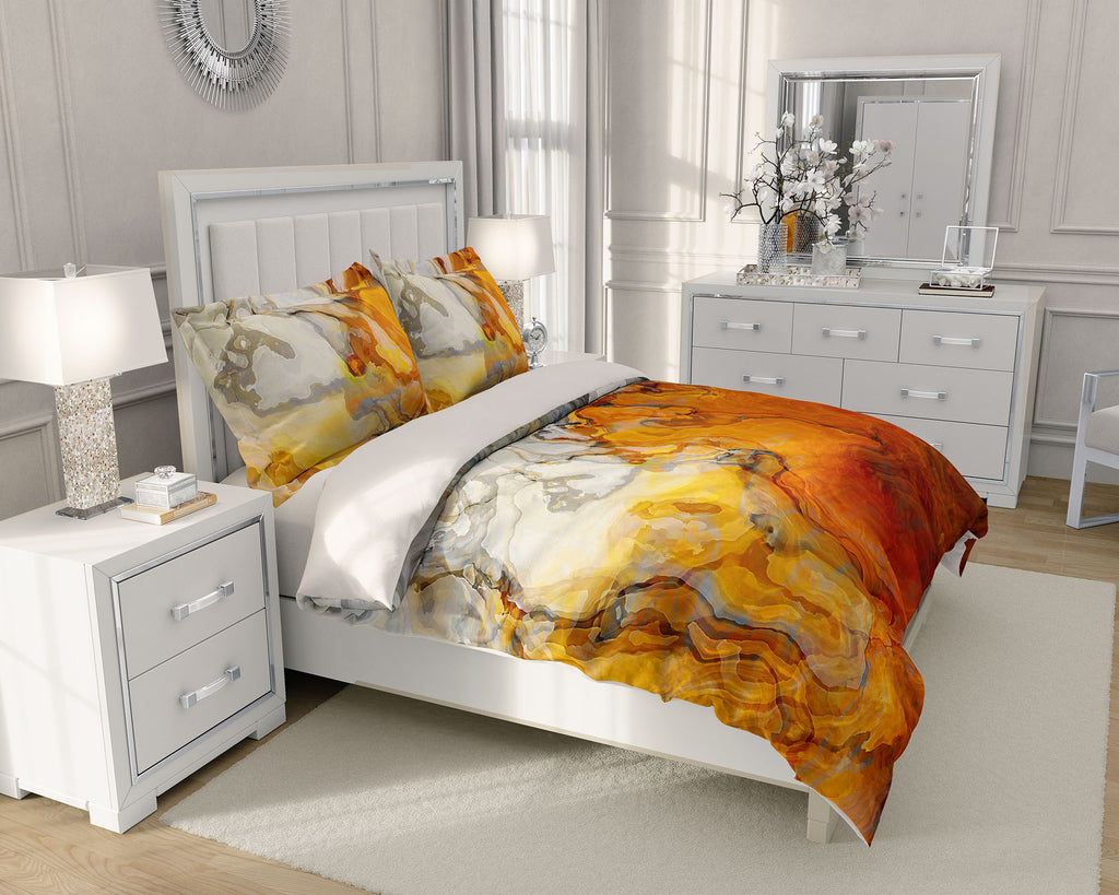 King or Queen Duvet Cover, Baby Teeth
