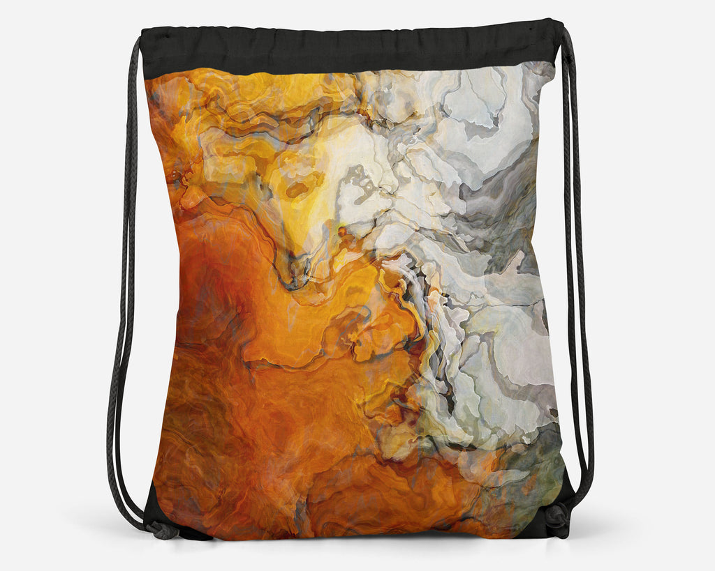 Drawstring Sling Bag, Baby Teeth